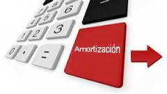 Calculo amortizacion